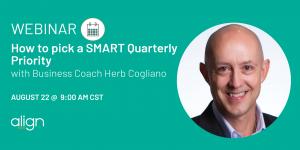 Herb Cogliano SMART Priority Webinar Info