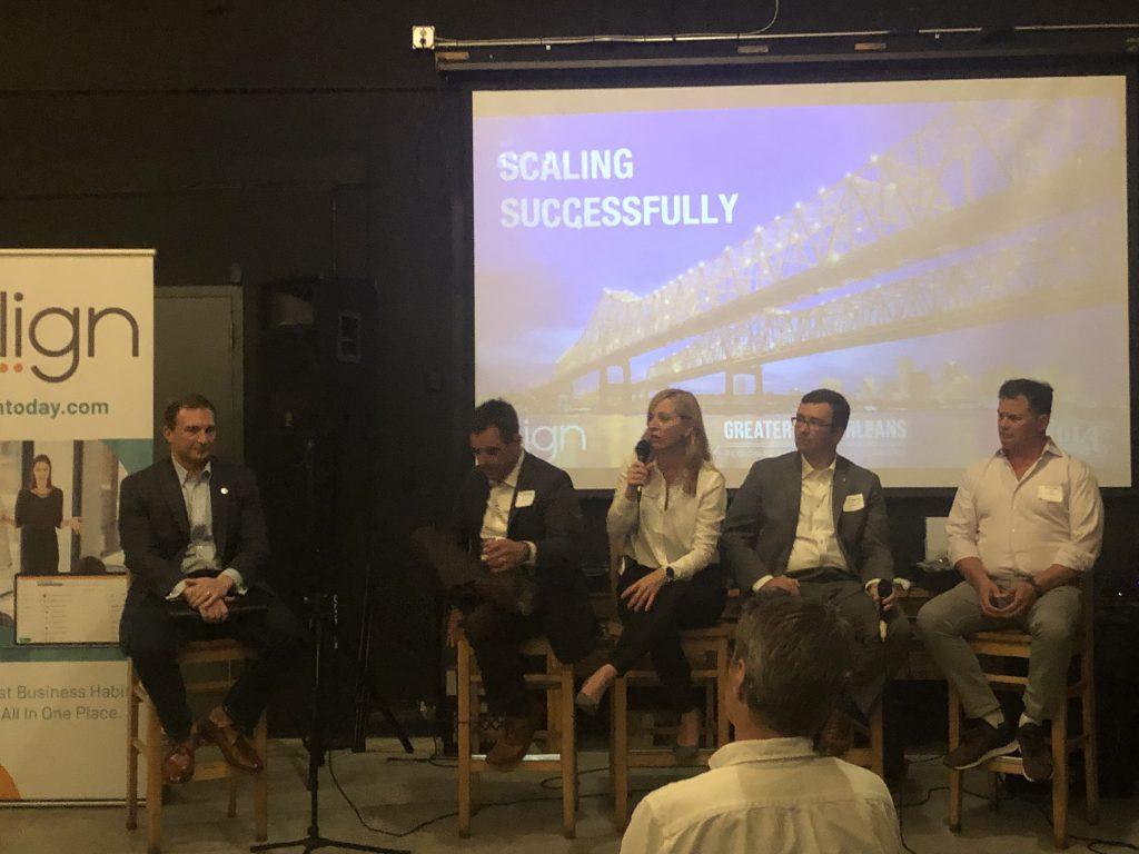 GNO Align Panelist discussion