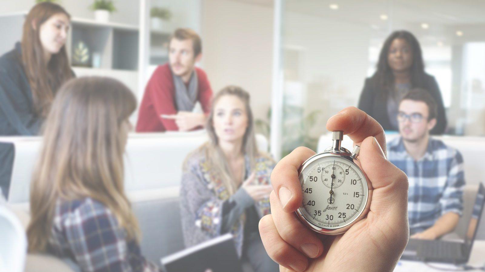 team timing meetings
