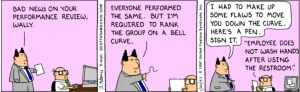 Dilbert performance review cartoon