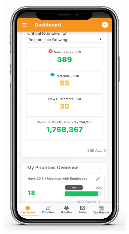 Align mobile app