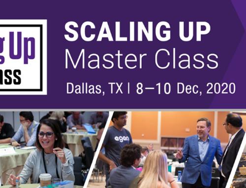Join Us Virtually at 2020 Scaling Up Master Class Dallas