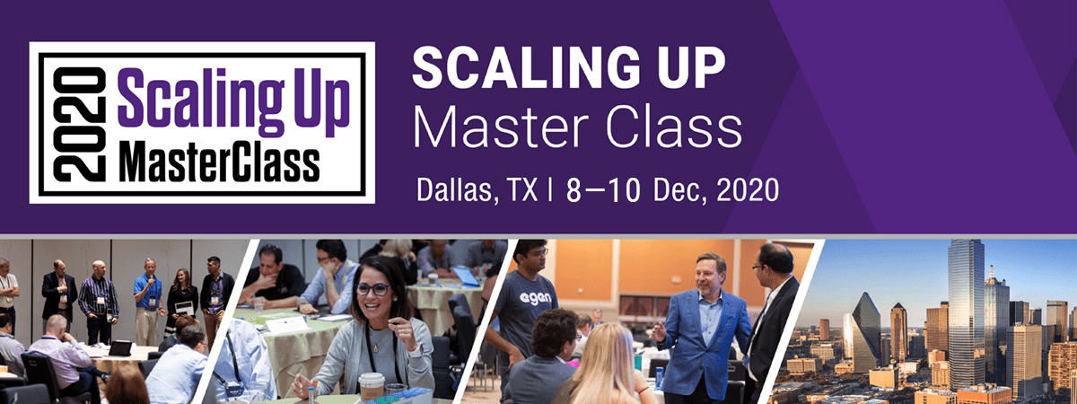 scaling up master class infographic