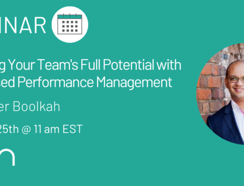 "Webinar Recap: ""Unlocking Your Team's Full Potential with Goal-Based Performance Management"" with Peter Boolkah"