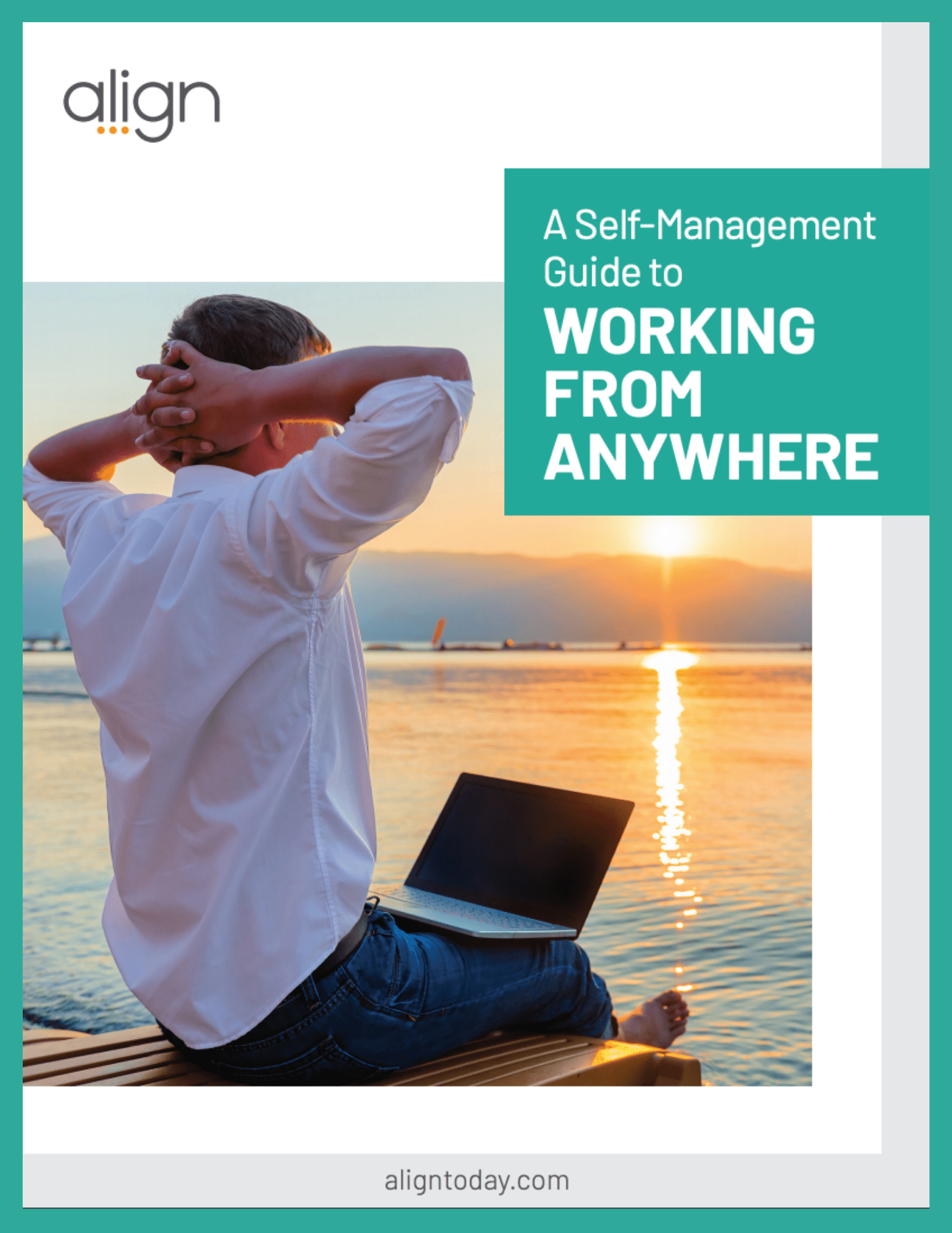Cover to the Self-Management Guide to Working from Anywhere