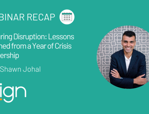 Lessons Learned from a Year of Crisis Leadership with Shawn Johal