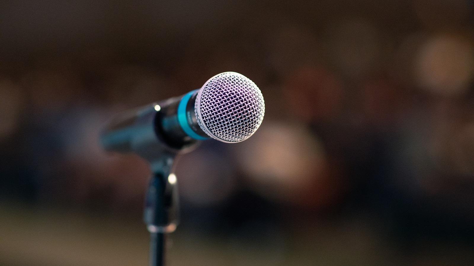 public microphone