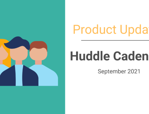 Scheduling Huddles Just got easier with Cadences